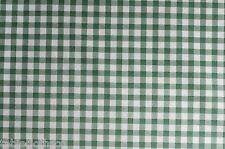 """1.4m/55"""" ROUND just wipe clean wipeable vinyl pvc green oilcloth TABLE CLOTH CO"""