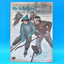 DDR Die Schulpost 2/1954 Zeitschrift für Junge Pioniere FDJ Schule