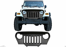 Opar Black Angry Bird Overlay Grill Grille For Jeep Wrangler TJ Rubicon 97-06