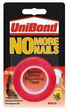 Unibond No More Nails Double Sided Mounting Tape 19mm x 1.5m Reel Permanent Tape
