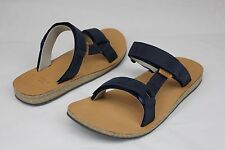 TEVA UNIVERSAL SLIDE LEATHER NAVY MENS SPORT SANDALS SIZE 11 US