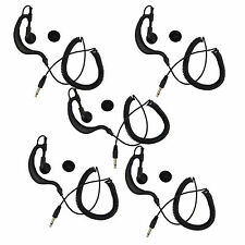 5pcs 3.5mm Listen Only Earpiece Earphone for Two-way Radios with 3.5mm mono jack
