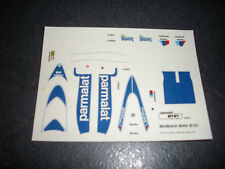 DECAL HIFI   BRABHAM BMW BT50 NEUF NO MERI TAMEO BBR