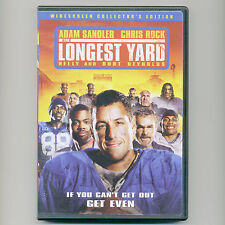 The Longest Yard 2005 sports comedy movie DVD Adam Sandler, Chris Rock, Nelly