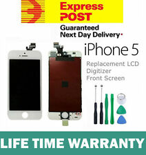 For iPhone 5 Replacement LCD Digitizer Front Screen Assembly Panel + Tools White