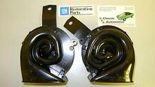 Horn Pair Delco Remy OE 69 Camaro New *In Stock* High/Low Note Pair horns