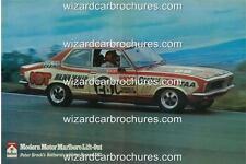 1972 PETER BROCK LJ HOLDEN TORANA GTR XU1 28C BATHURST A3 POSTER AD BROCHURE