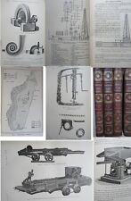 Mines et Métallurgie Classe 63, 64 et 65 Exposition 1900 Groupe XI complet 4 vol