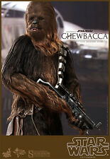Hot Toys Star Wars Chewbacca Sixth Scale 1/6 Action Figures MMS 262 SIDESHOW ANH