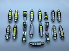 Mercedes S W220 + AMG FULL LED Interior Lights KIT SET 21 pcs Bulbs White GR