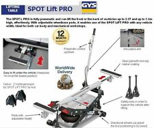GYS SPOT LIFT PRO 2.5T 2500KP FULLY PNEUMATIC LIFTING TABLE LIFTS 1.5M HIGH