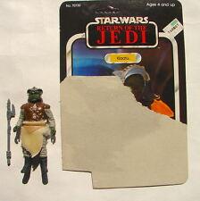 Vintage Kenner Star Wars Klaatu  ROTJ 65 bk cardback w orig acc 916