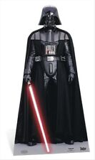 Darth Vader Star Wars Cardboard Cutout / Figure 195cm Tall Dark Side Lightsaber