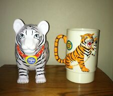Ringling Brothers Barnum and Bailey Lot of 2 Tiger Mugs