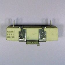 "1ea 10 Ohm 30W 1%? Wirewound Power Resistor Cement Filled 3/4"" x 3/4"" x 2-15/16"""
