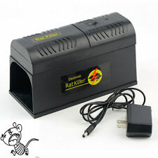 Electronic Mice Rat Killer Rodent Repeller Electric Trap Zapper Pest Control FC0