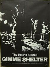 GIMME SHELTER THE ROLLING STONES French moyenne 23x32 movie poster vintage