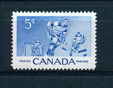 CANADA 1956 ICE-HOCKEY COMMEMORATION SG485 BLOCK OF 4 MNH