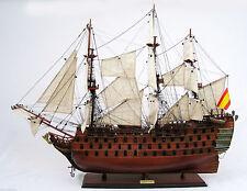 """SANTA ANA Tall Ship 36"""" - Handmade Wooden Ship Model NEW"""
