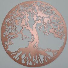 Tree of Life Metal Art, Color: Copper, Wall Decor