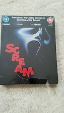 SCREAM Steelbook Blu Ray UK ZAVVI Release RARE OOP