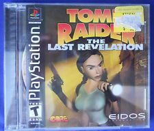 1999 Tomb Raider The Last Revelation Playstation 1 PS1 Video Game