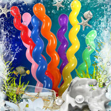 100pcs Wedding Kids Birthday Party Decor Toy Gift Twist Spiral Latex Balloons