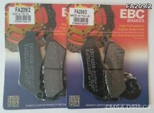 KTM Adventure 950 / 990 (2002 to 2012) EBC Kevlar FRONT Brake Pads (FA209/2)