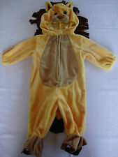 NEW Halloween Theater Koala Kids Full Lion Costume Yellow 3D Head 6M Months Baby