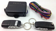 Remote Control Keyless Entry System Central Door Locking Kit Auto Car Van 190