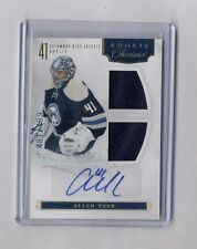 11/12 ROOKIE ANTHOLOGY ALLEN YORK #151 ROOKIE TREASURES JERSEY & AUTO 481/499