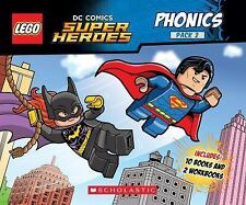 LEGO DC Super Heroes: Phonics by Quinlan B. Lee (2016, Mixed Media)