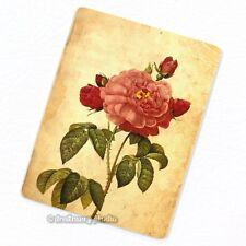 Pink Rose #1 Deco Magnet, Decorative Fridge Décor Garden Flower Mini Gift
