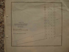 1853 ANTIQUE MAP CARLTON NEW YORK OLD ORCHARD CREEK NR