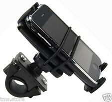 Secure-Bike/Motorcycle Handlebar Mount for iPhone 3 3g 4 4s & other smart-phones