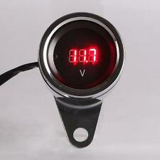 LED Digital Voltmeter Fit Harley Davidson Dyna Super Wide Glide FXDWG/Low Rider