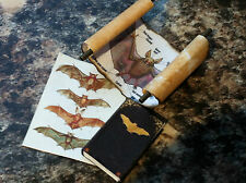 DOLLS HOUSE WITCH BAT BOOK/ SCROLL