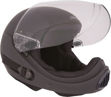 ~NEW~ PHANTOM XV ~ Full Face Skydiving Helmet from SQ1~ EXTRA LARGE Flat Black