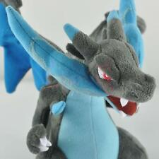Hi Rare Charizard Blue Plush Soft Doll Toy Gift Stuffed Animal Game Lover