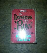 NEW SEALED PACK OF THE DANGEROUS BOOK FOR BOYS PLAYING CARDS