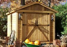 8' x 8' SpaceMaker Cedar Storage Shed   - ON SALE NOW