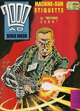 2000ad PROG 645  FLEETWAY COMICS  JUDGE DREDD / STRONTIUM DOG  1989  vf+(8.5) ~