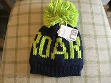 "Mothercare Boys Hat ""Roar"" 1-3 years NEW Navy/Green colour -Brand New"