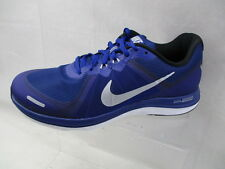 NIKE DUAL FUSION X 2 MENS RUNNING SHOES BLUE BRAND NEW SIZE UK 8 (Z3)