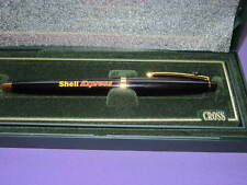 CROSS SOLO PEN BLACK & GOLD WITH SHELL  LOGO AND SHELL EMBLEM