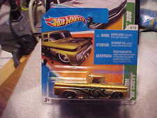 2011 Hot Wheels Treasure Hunt #4 Custom '62 Chevy on Short Card RARE!!