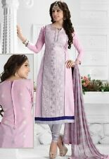 Radiant Cotton Embroidered Salwar Suit Dress Material D.NO NKT1168