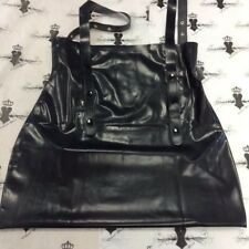 R1354 Mistress Skirt with Braces **BLACK** ONLY ONE FOR GRABS 14 UK