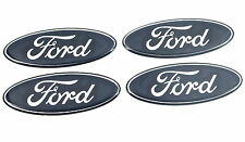 4 X Original Ford Insignias Ka Fiesta Puma Escort Focus Mondeo Smax Rs 50 Mm X 19mm