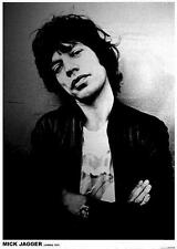 """ROLLING STONES POSTER """"MICK JAGGER LONDON 1975"""""""